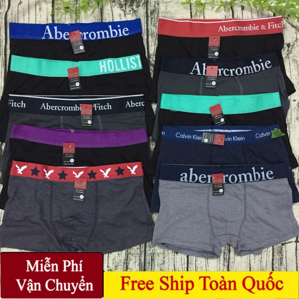 COMBO5 Quần Sịp Đùi, Quần Lót Đùi Nam - quần lót boxer  cực mát hàng cao cấp thời trang giá rẻ cho nam