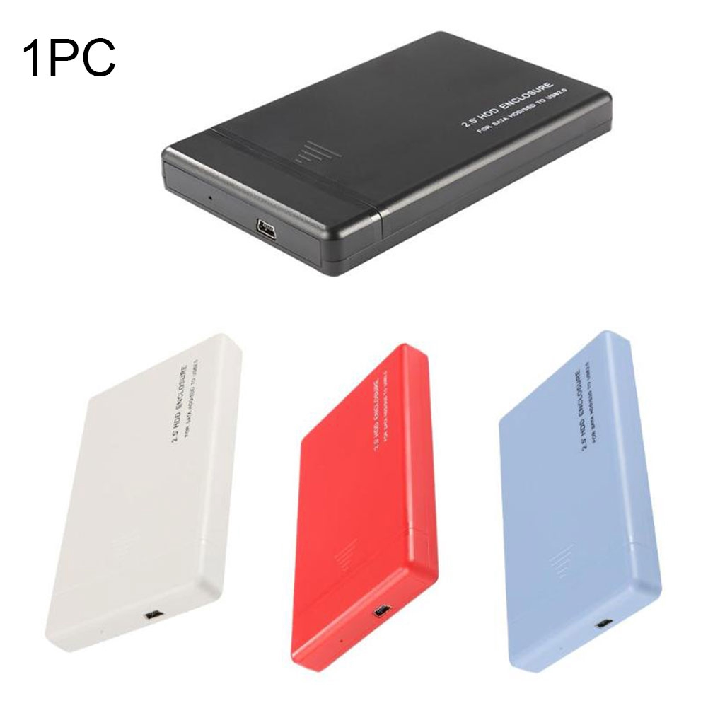 High Speed Anti Scratch 2.5 Inch Portable Professional USB2.0 SATA Lightweight External For PC Slim HDD Enclosure