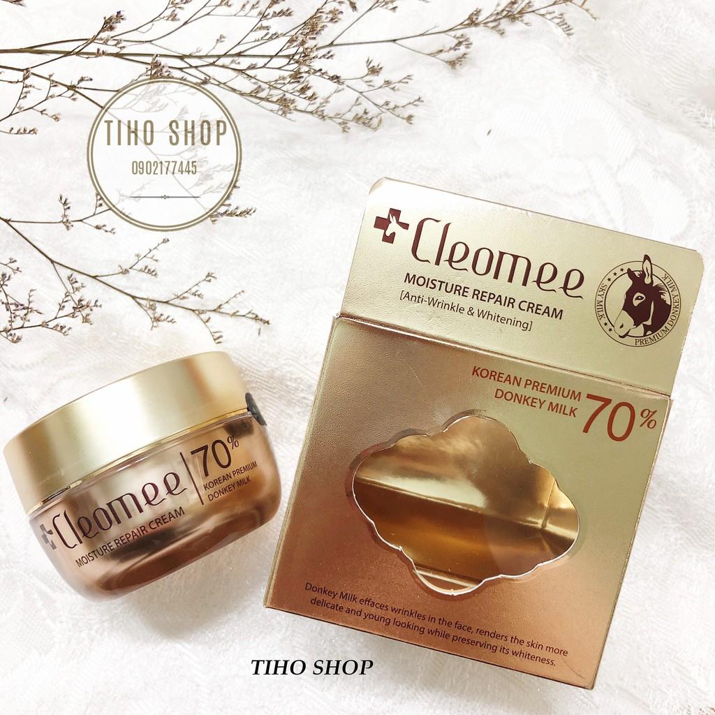 Kem Dưỡng Da Sữa Lừa Cleomee Moisture Repair Cream 50ml