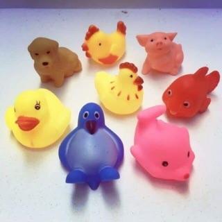 Đồ chơi túi 8 con chít chít động vật