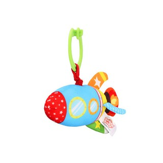 Bebek Baby Plush Rattles Handle Pulling Play Toys Baby Bed Stroller Hanging