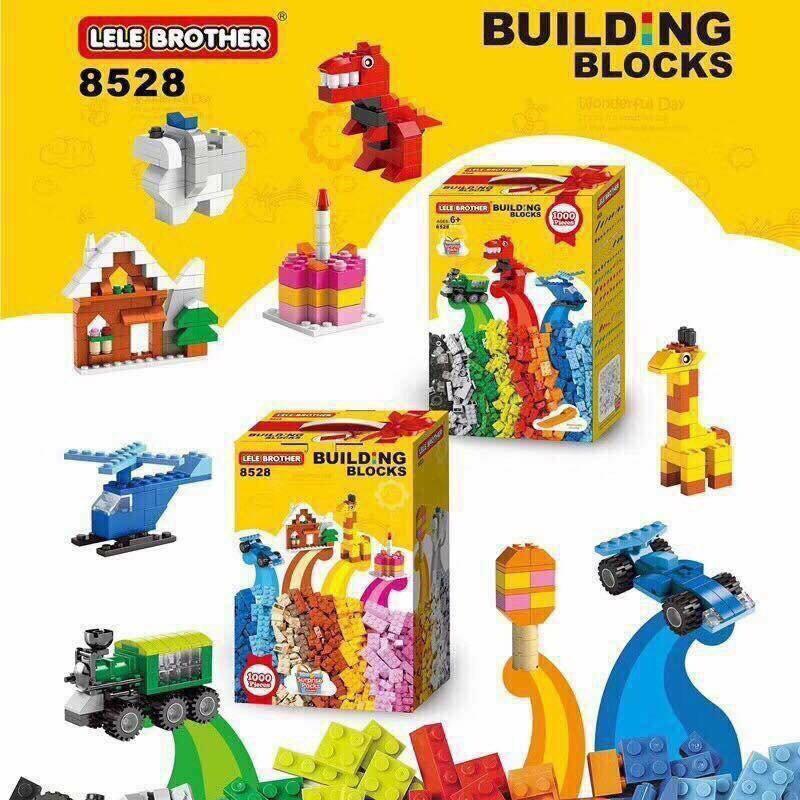 BỘ ĐỒ CHƠI LẮP GHÉP 1000 CHI TIẾT LELE BROTHER ( LEGO MẪU MỚI ) - 3572382 , 1162891330 , 322_1162891330 , 234000 , BO-DO-CHOI-LAP-GHEP-1000-CHI-TIET-LELE-BROTHER-LEGO-MAU-MOI--322_1162891330 , shopee.vn , BỘ ĐỒ CHƠI LẮP GHÉP 1000 CHI TIẾT LELE BROTHER ( LEGO MẪU MỚI )