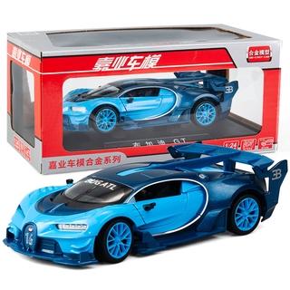 Mô Hình Xe Hơi Bugatti Gt Bằng Hợp Kim Tỉ Lệ 1: 24