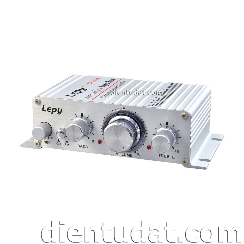 Bộ Khuếch Đại Âm Thanh Lepy 2x15W LP-A6FM