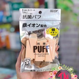 Bông mút trang điểm, bông phấn trang điểm Nhật cao cấp thumbnail