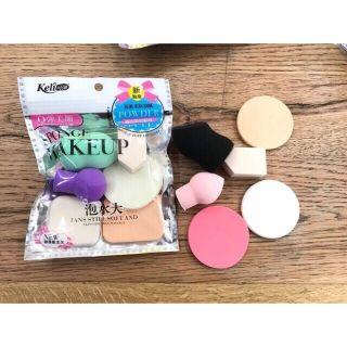 [HCM] Bộ 6 Bông Mút Trang Điểm Keli Sponge Makeup