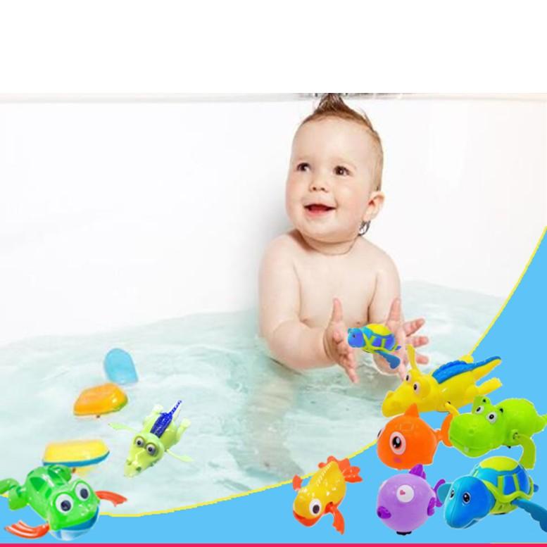 Thú bơi bồn tắm thông minh cho bé