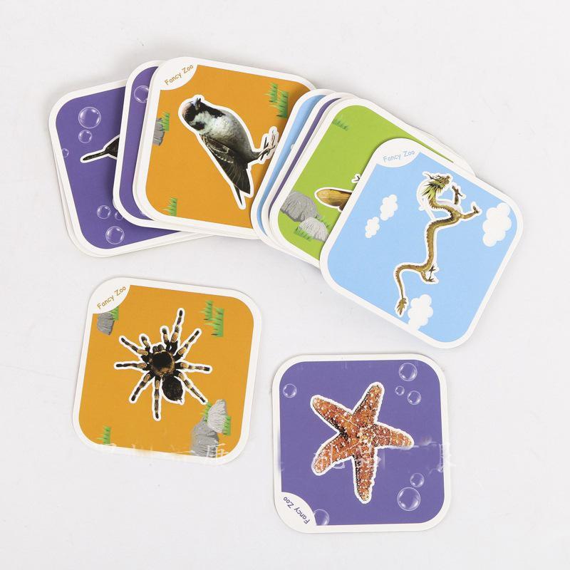 Thẻ 4D vườn thú ảo - Neobear Pocket Zoo (Fancy zoo)