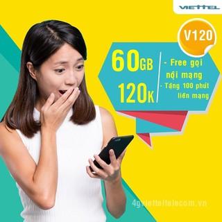 [MIỄN PHÍ THÁNG ĐẦU] SIM 4G V90 Viettel Tặng 120Gb/tháng, 100p ngoại mạng và miễn phí gọi nội mạng