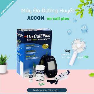 (HOT - Tặng quạt mini + hộp 25 que thử) Máy Đo Đường Huyết Acon On Call Plus thumbnail