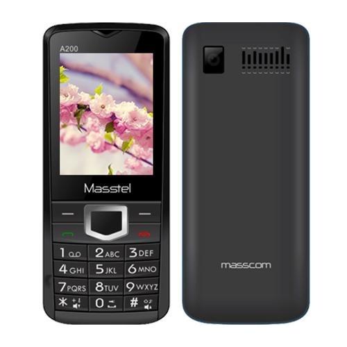Masstel A200 2 Sim (Đen Đỏ)