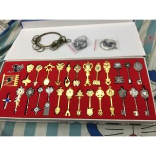 Bộ chìa khoá 12 cung hoàng đạo của lucy có đầy đủ món và quà tặng