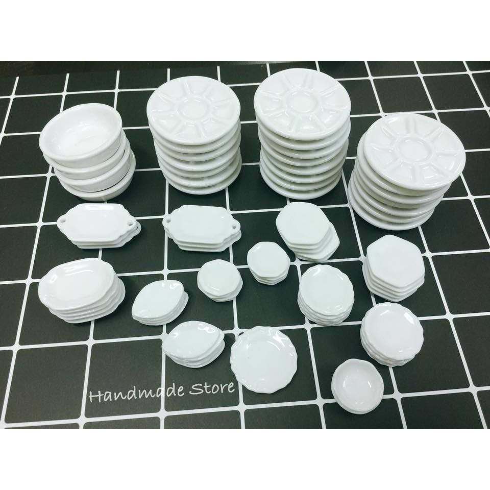 Chén đĩa sứ - Mô hình đồ chơi mini tỷ lệ 1:12 - 3102988 , 1042936105 , 322_1042936105 , 8000 , Chen-dia-su-Mo-hinh-do-choi-mini-ty-le-112-322_1042936105 , shopee.vn , Chén đĩa sứ - Mô hình đồ chơi mini tỷ lệ 1:12