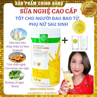 Sữa Nghệ Hera 500g Tốt Cho Người Đau Dạ Dày Phụ Nữ Sau Sinh Lợi Sữa Đẹp Da thumbnail
