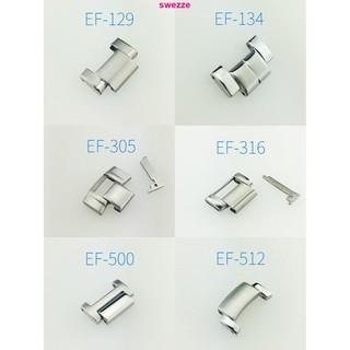 dây đeo inox cho đồng hồ thông minh casio ef - 129/134/500/513/521/524/550/564