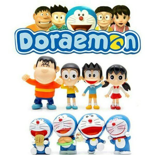 Mô Hình Doremon – Nobita và những người bạn