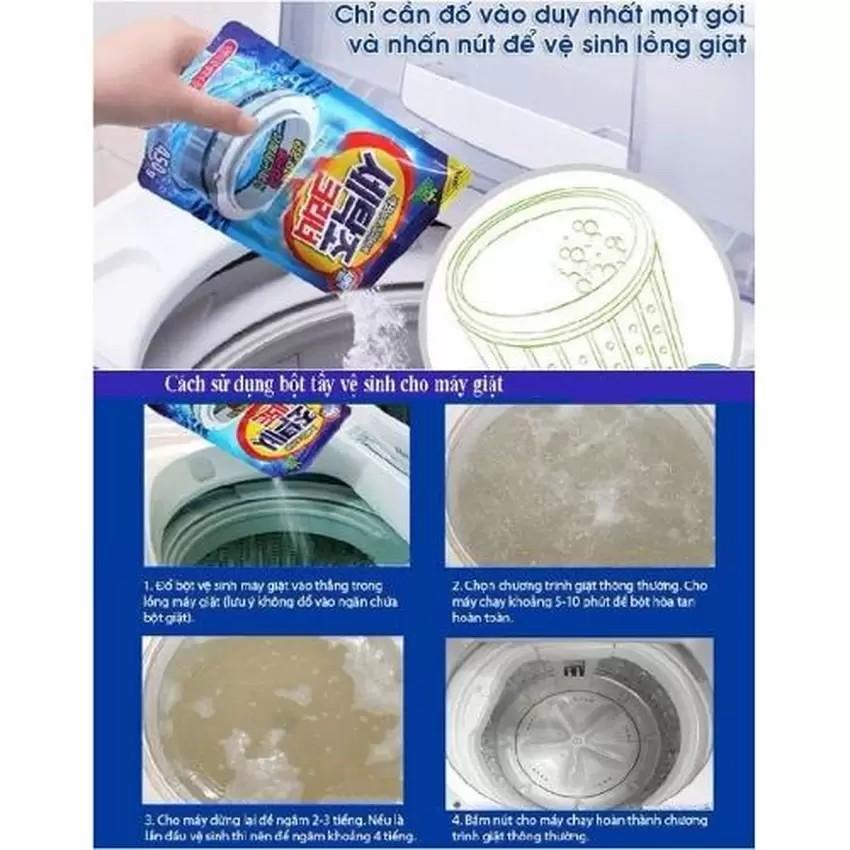 Gói bột tẩy vệ sinh lồng máy giặt 450g cao cấp Senviet - 2976712 , 120989212 , 322_120989212 , 25000 , Goi-bot-tay-ve-sinh-long-may-giat-450g-cao-cap-Senviet-322_120989212 , shopee.vn , Gói bột tẩy vệ sinh lồng máy giặt 450g cao cấp Senviet