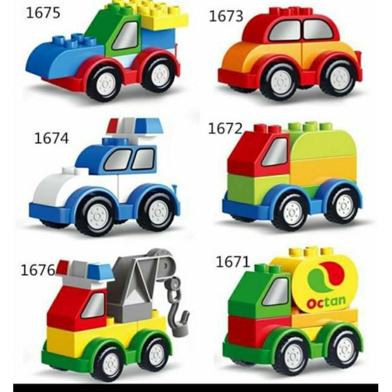 COMBO 2 XE LEGO NGẪU HỨNG KHÁC NHAU SZ TRUNG