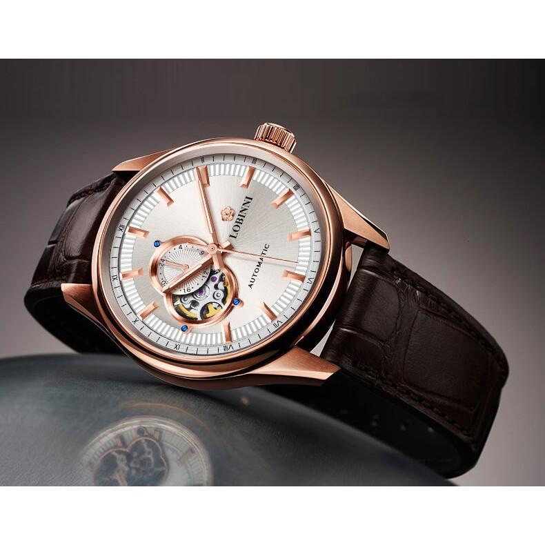 Đồng hồ nam chính hãng Lobinni No.5019-3
