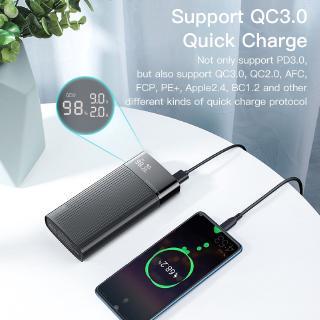 Hình ảnh Sạc Dự Phòng KUULAA 20000mAh USB 3.0 Sạc Nhanh Cho Iphone Huawei-4