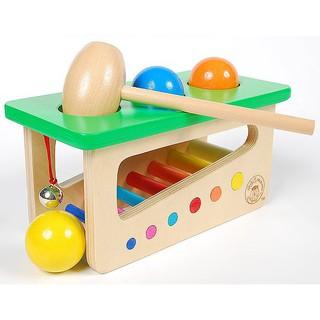 Đồ chơi gõ bóng gỗ kết hợp với đàn Xylophone_SocSau