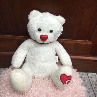 Gấu bông trắng tinh size 25cm