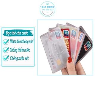 Vỏ Bọc Thẻ Căn Cước Nhựa Thẻ Công Dân, Thẻ Ngân Hàng, Lái Xe, Thẻ Các Loại Chống Thấm Nước,Chông Mờ Chữ thumbnail