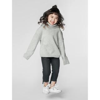 Áo len bé gái dày cổ kiểu 1TE18W004 Canifa