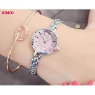Đồng hồ nữ thời trang dây kim loại KIMIO K6129 thời trang thumbnail