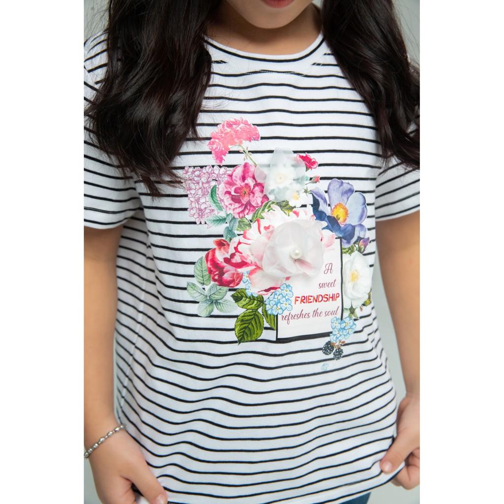 IVY moda áo thun bé gái MS 57G1053