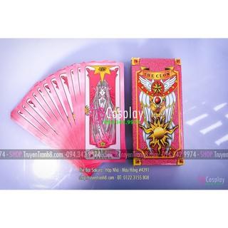 Thẻ Bài Sakura – Hộp Nhỏ – Màu Hồng