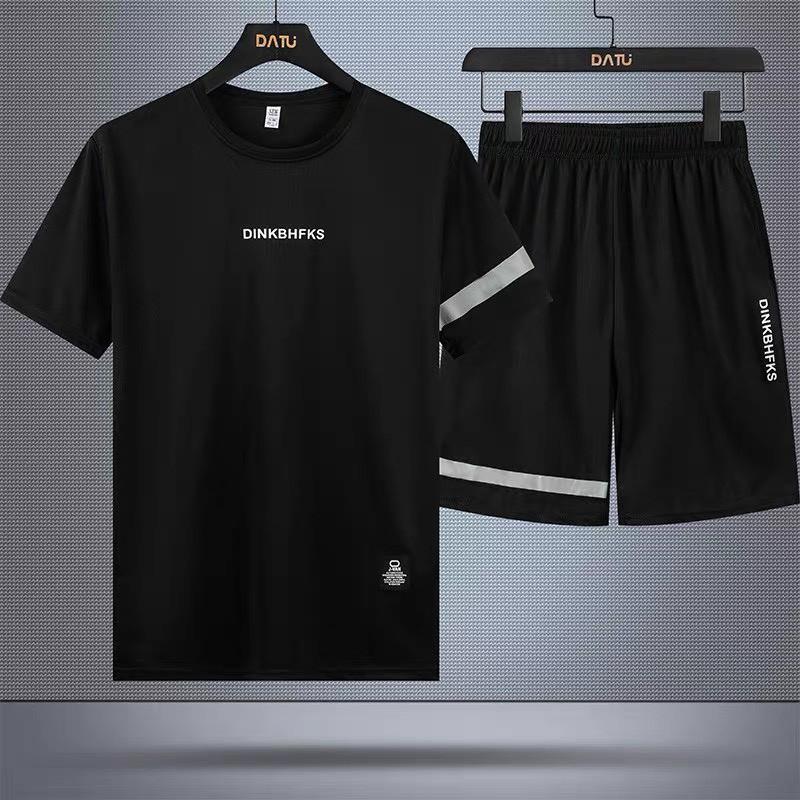 Mặc gì đẹp: Thoải mái với Đồ thể thao nam 🚚 FREESHIP 🚚 đồ bộ nam in chữ DRINKBHFKS mẫu mới 2020