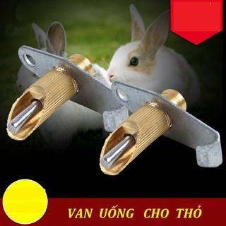 [Mã 157FMCGSALE giảm 8% đơn 500K] 10 vòi uống nước cho thỏ bằng đồng thumbnail