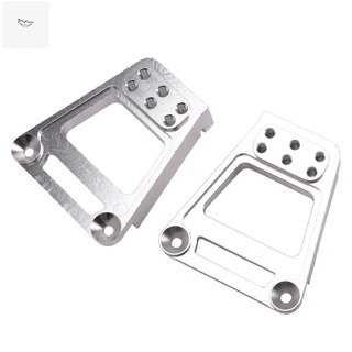 2PCS Metal Rear Shock Absorbing Tower Accessories for HPI VENTURE Tracked Vehicles Silver