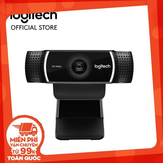 Webcam Logitech C922 Pro Full HD (Đen) – Chính Hãng – chính hãng Giá chỉ 2.460.000₫