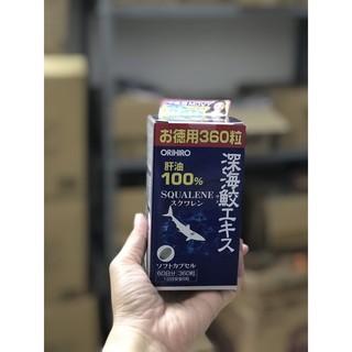 Viên Uống Sụn Vi Cá Mập Orihiro Squalene Nhật Bản