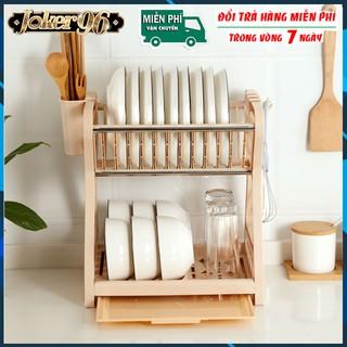 Kệ để chén bát nhà bếp phòng trọ, Kệ để bát đĩa thoát nước thông minh, Giá để bát thông minh nhỏ gọn