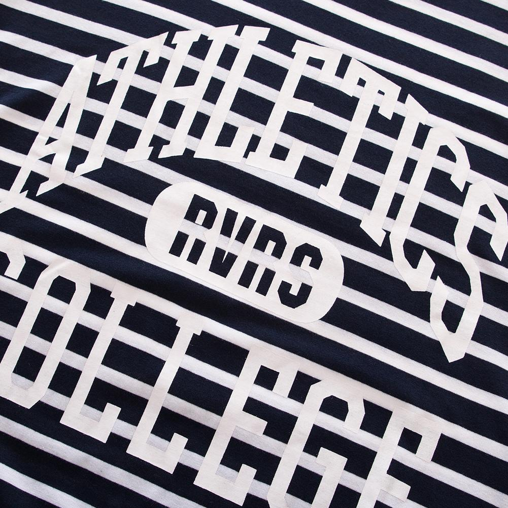 New Fashion Summer Printing Men Short Sleeve Casual Striped Cotton T-shirt