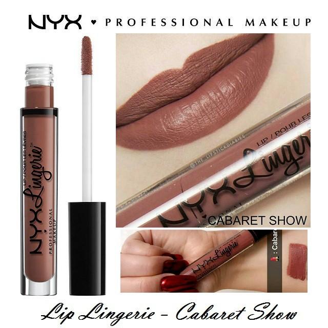 Son kem lì NYX Lingerie Liquid Matte Lipstick LIPLI24 Cabaret Show - 3116096 , 666038854 , 322_666038854 , 295000 , Son-kem-li-NYX-Lingerie-Liquid-Matte-Lipstick-LIPLI24-Cabaret-Show-322_666038854 , shopee.vn , Son kem lì NYX Lingerie Liquid Matte Lipstick LIPLI24 Cabaret Show