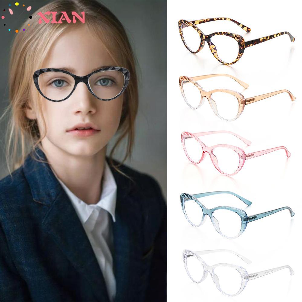 XIANSTORE Anti Blue Rays Computer Glasses Flexible Portable Eyeglasses Vision Care Ultra Light Resin Women Men Fashion High Quality Eye...