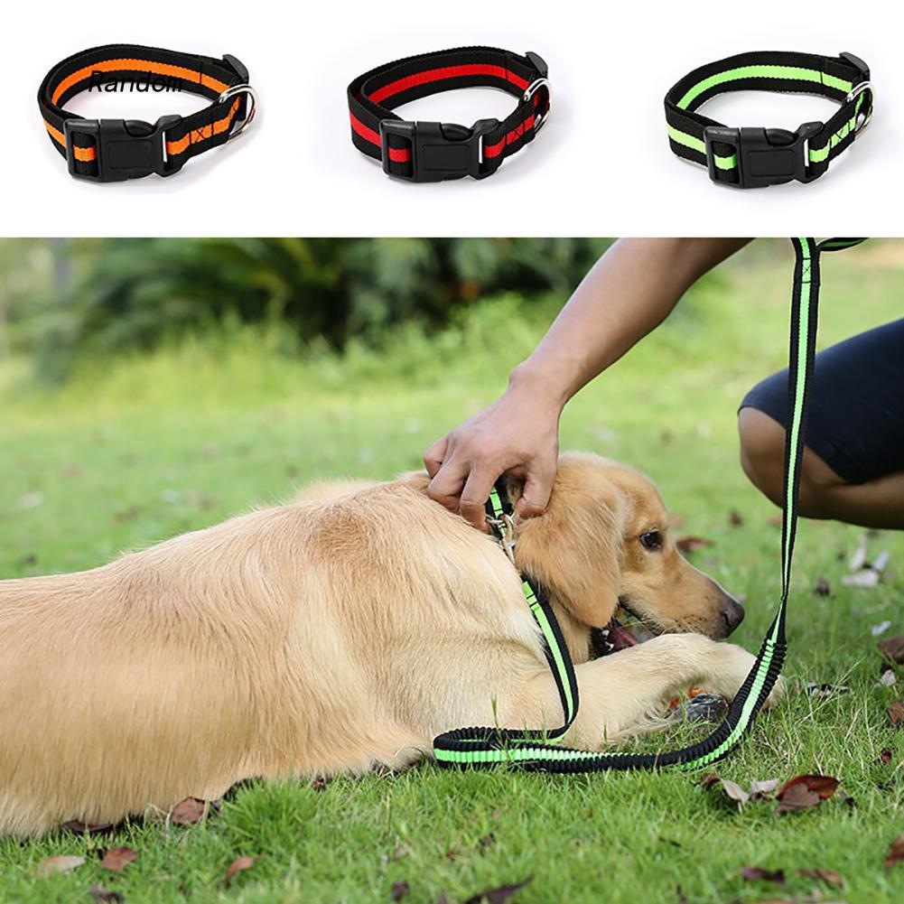 [RA]Cute Adjustable Dog Cat Pet Puppy Decor Neck Collar Buckle Strap Necklace Choker