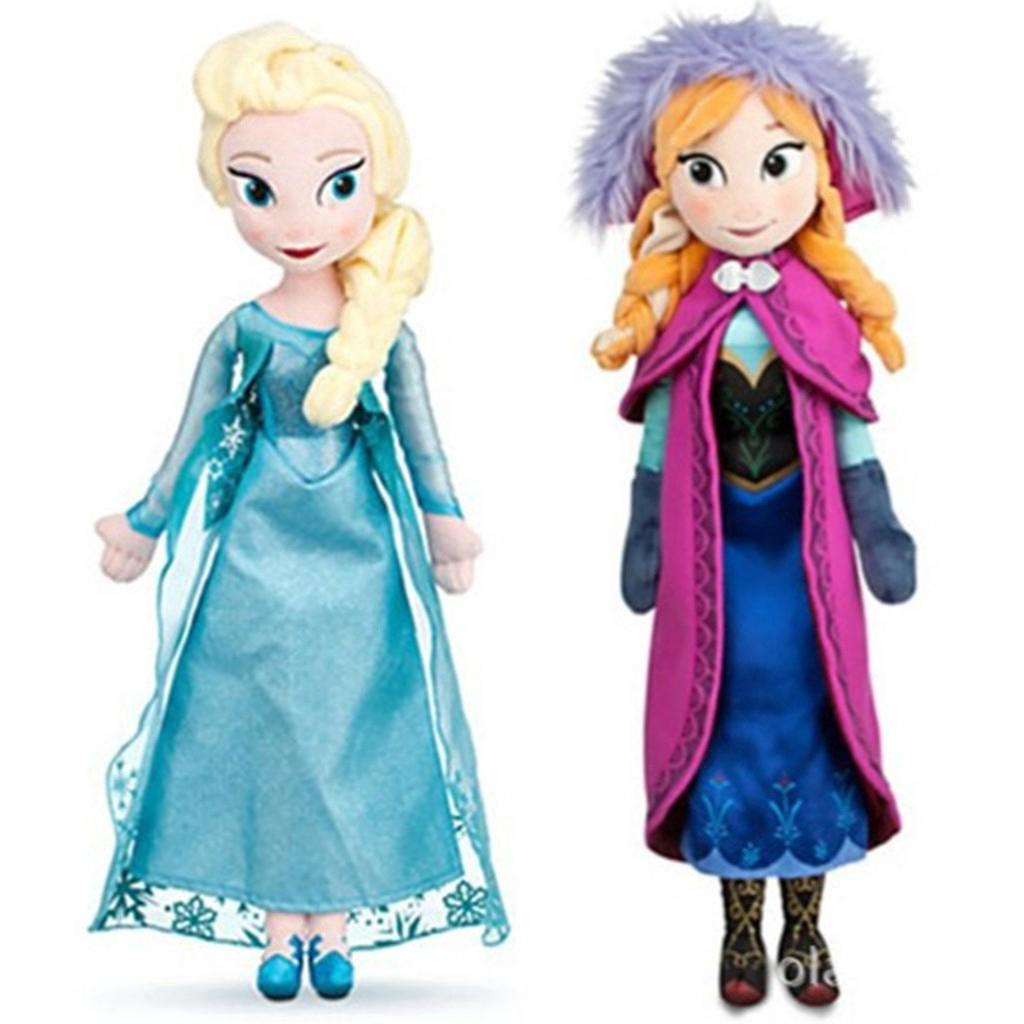 Ifone Hot Christmas Gift 40cm&50cm Disney Frozen Elsa&Anna Princess Stuffed Doll