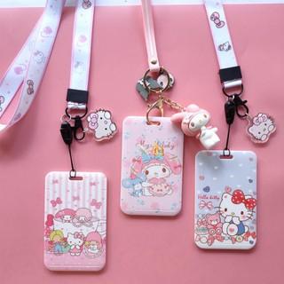 Ví Đựng Thẻ Hình Hello Kitty Và Melody Đáng Yêu Giá Đỡ thumbnail