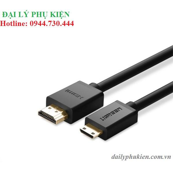 Cáp mini HDMI sang HDMI 1M UGREEN 10195