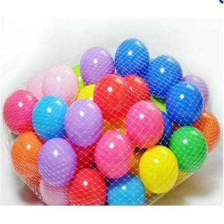 Túi 100 quả bóng chơi cho bé (hàng Việt Nam)