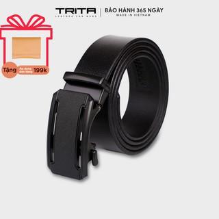Thắt lưng nam thời trang da bò thật TRITA RTL011