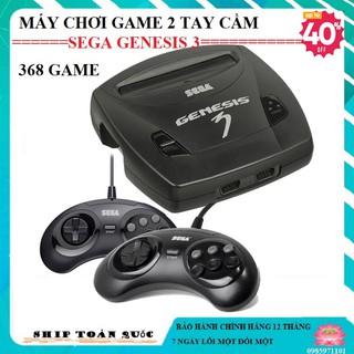 [hàng hít] Máy chơi game 2 tay cầm sega genesis 3 tích hợp sẵn 368 trò chơi - phiên bản giới hạn thumbnail