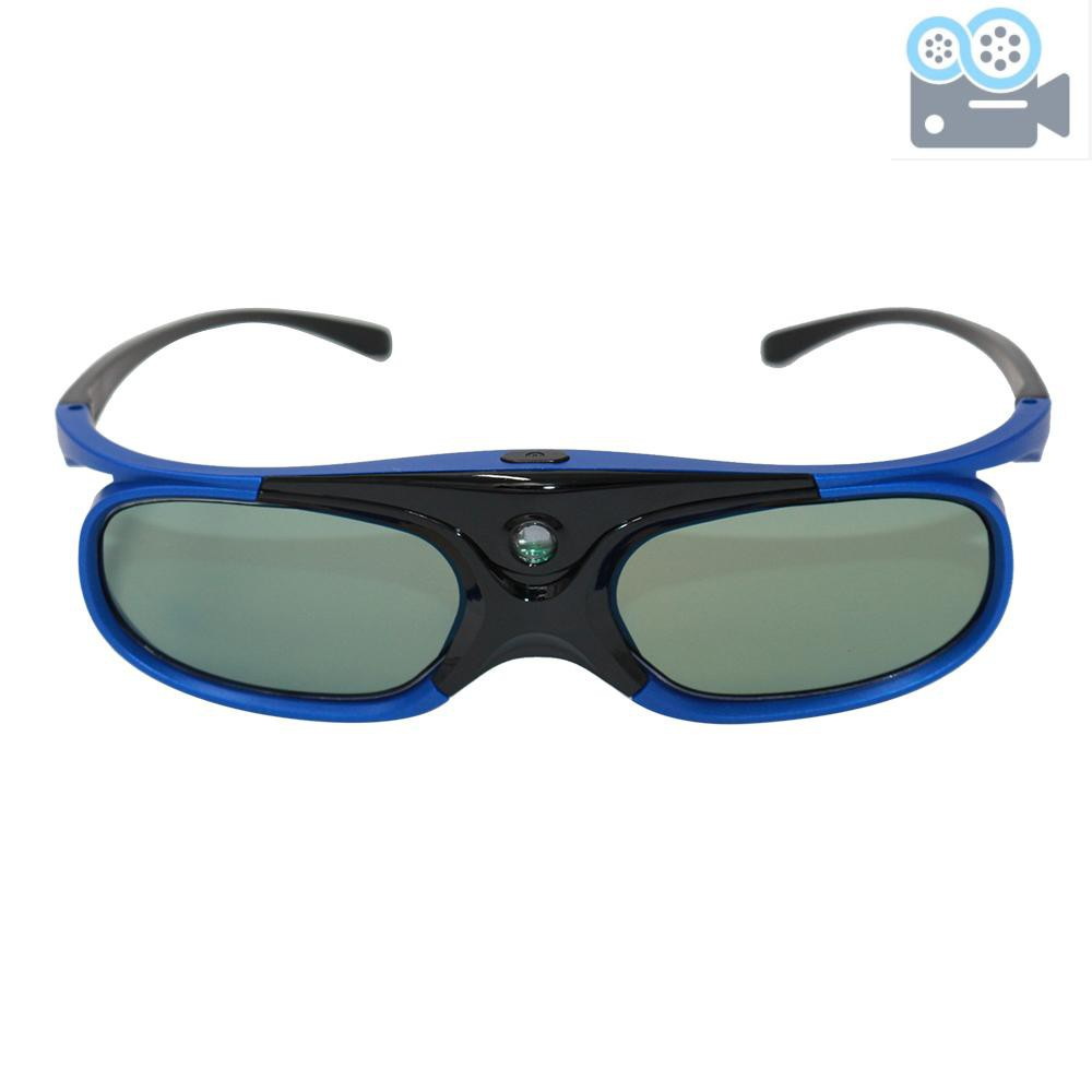 DLP Link 3D Glasses Active Shutter Projector Glasses Rechargeable for All DLP-Link 3D Projectors Compatible with Optoma Acer BenQ ViewSonic...