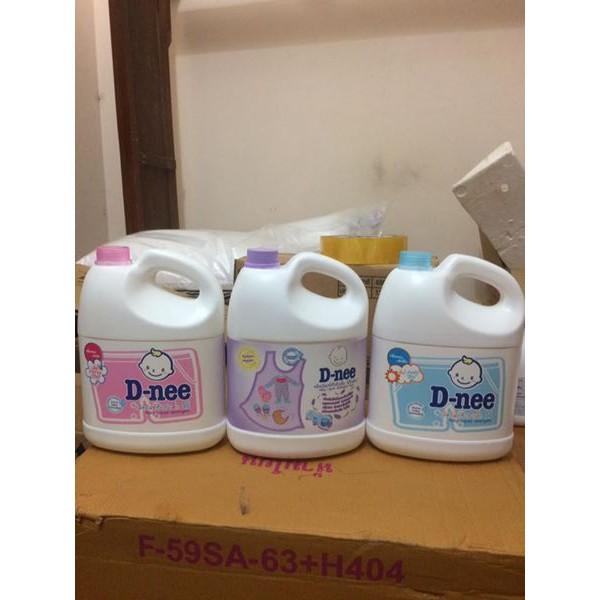 Nước giặt xả Dnee Can 3000ml - Thái Lan