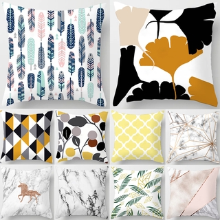 Marble Square Cushion Cover Pillow Case Home Decorations Home Decor